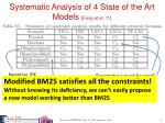 systematic analysis of 4 state of the art models fang et al 111