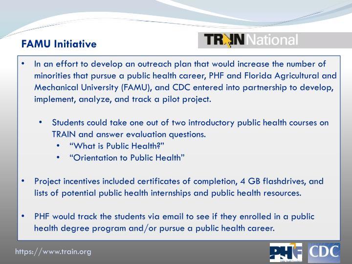 FAMU Initiative