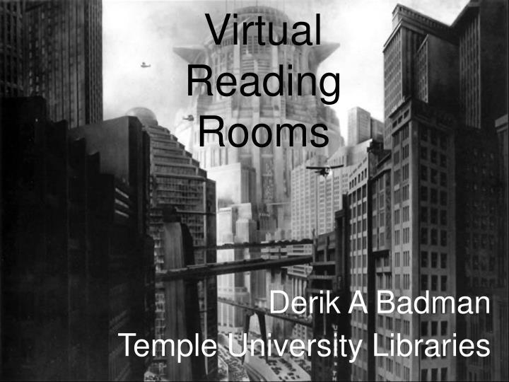 Derik a badman temple university libraries