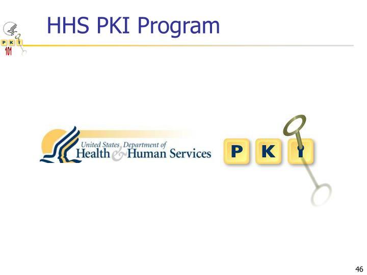 HHS PKI Program
