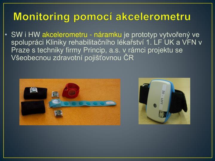 Monitoring pomocí akcelerometru