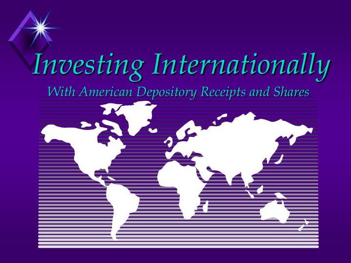 investing internationally n.