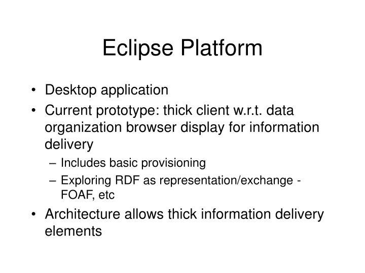 Eclipse Platform