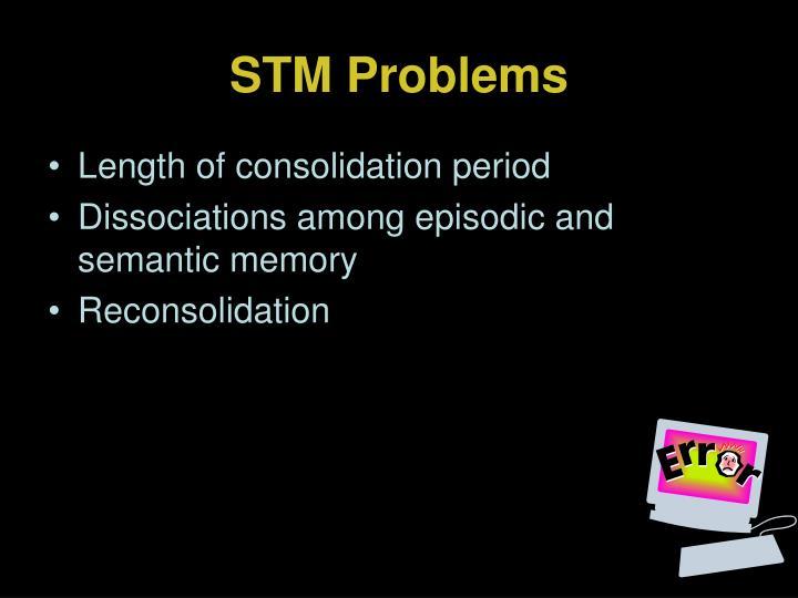 STM Problems