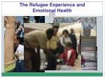 the refugee experience and emotional health1
