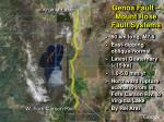 genoa fault mount rose fault systems