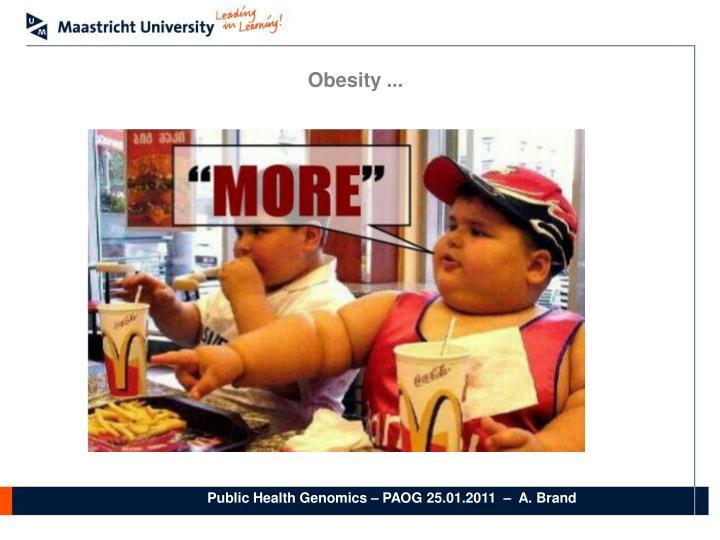 Obesity ...
