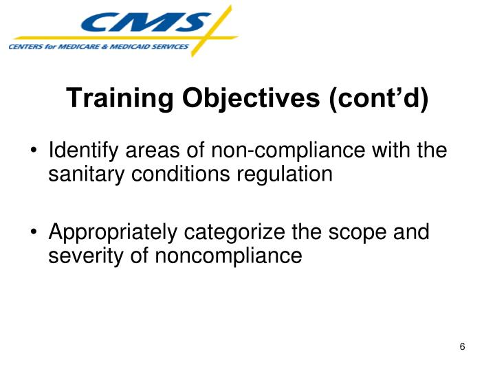 Training Objectives (cont'd)