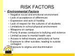 risk factors6