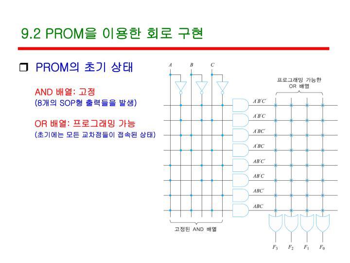 9.2 PROM