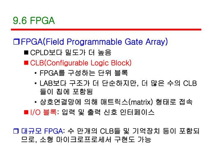 9.6 FPGA