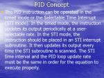 pid concept1