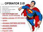 operator 2 0