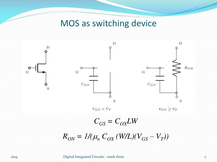 MOS as switching device