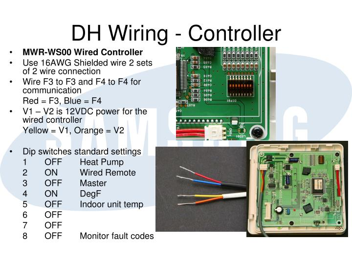 DH Wiring - Controller