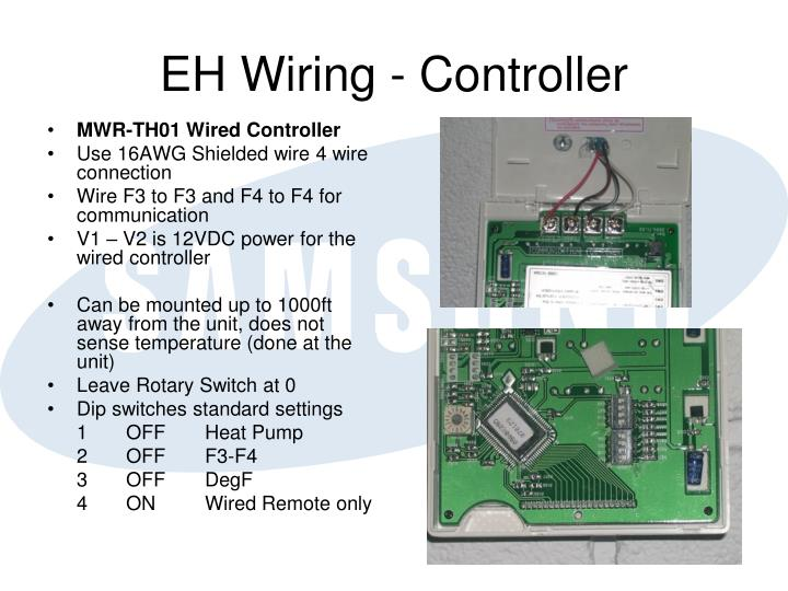 EH Wiring - Controller