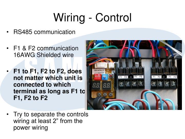 Wiring - Control