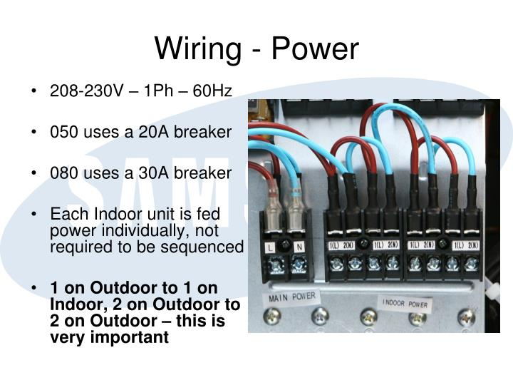Wiring - Power