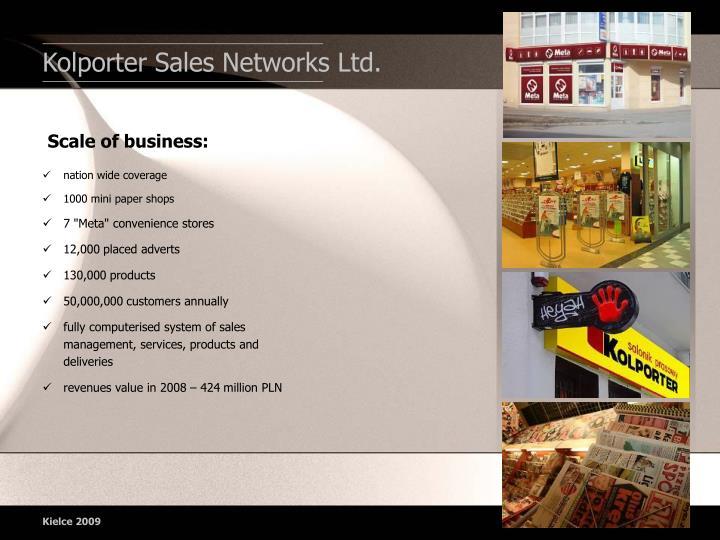 Kolporter Sales Network