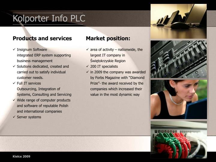 Kolporter Info PLC