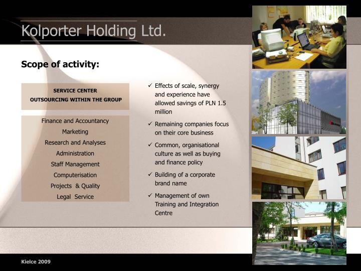 Kolporter Holding Ltd.