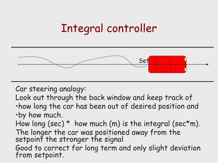 Integral controller