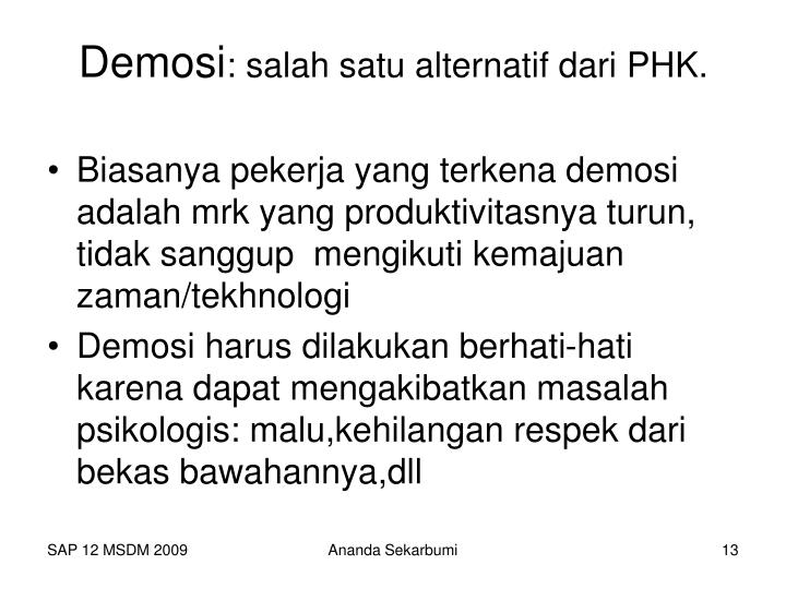 Demosi