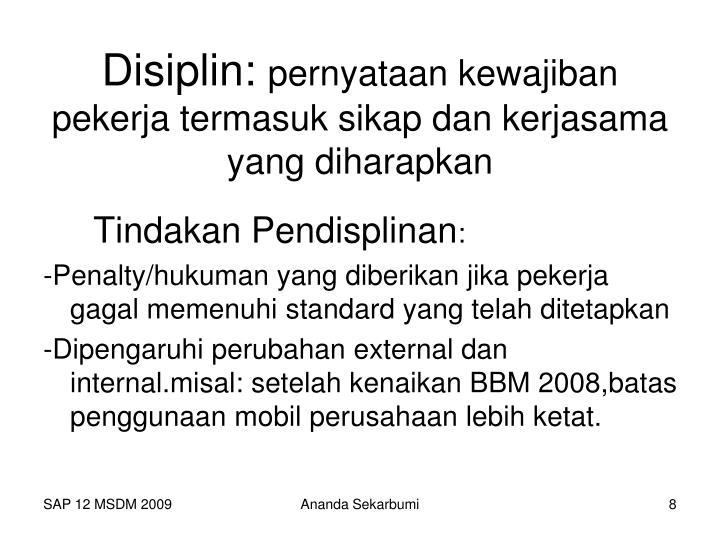 Disiplin: