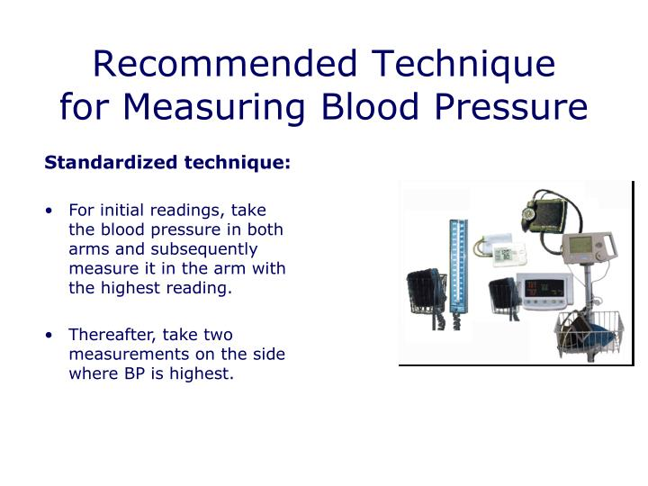 Recommended Technique