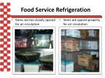 food service refrigeration