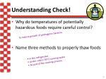 understanding check