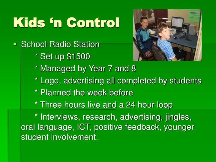 Kids 'n Control