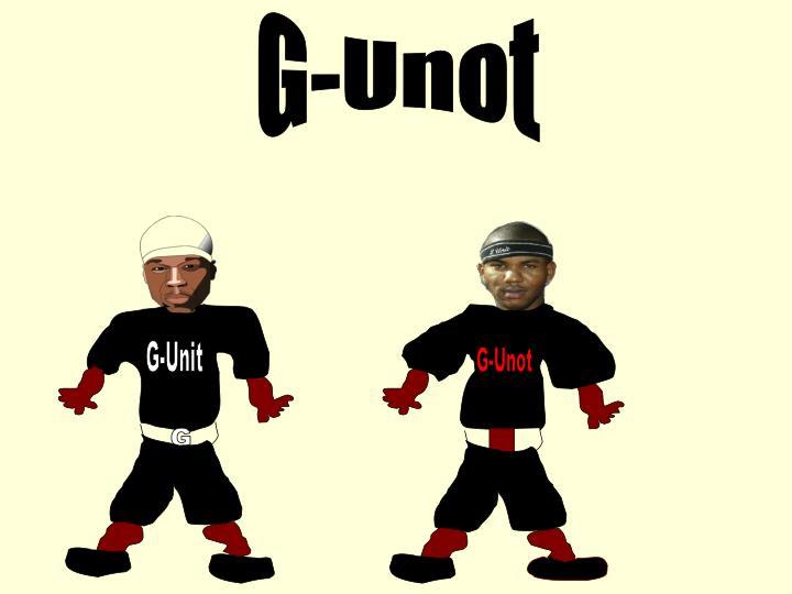 G-Unot