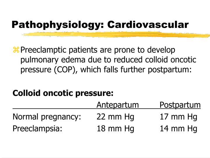 Pathophysiology: Cardiovascular