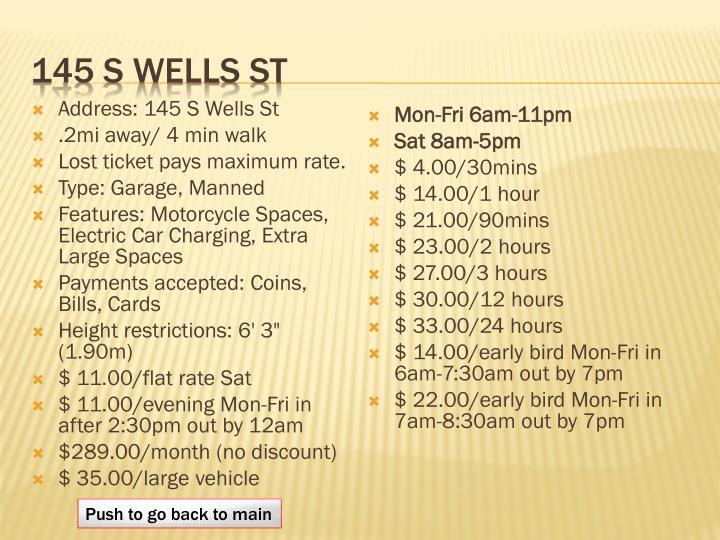 145 S Wells St