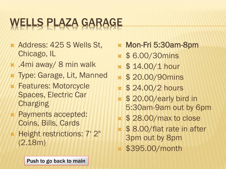 Wells Plaza Garage