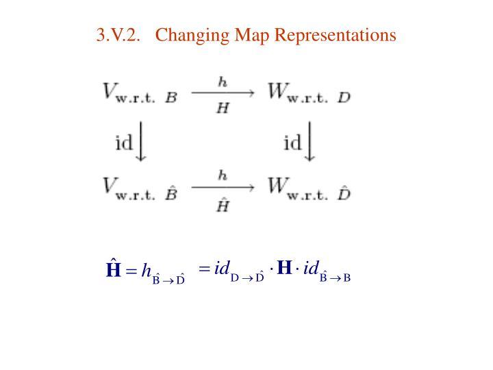 3.V.2.   Changing Map Representations