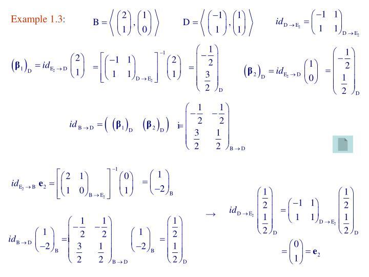 Example 1.3