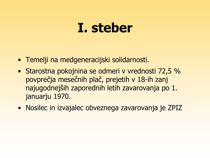 I. steber