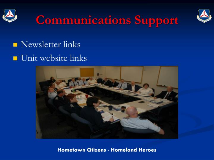 Communications Support