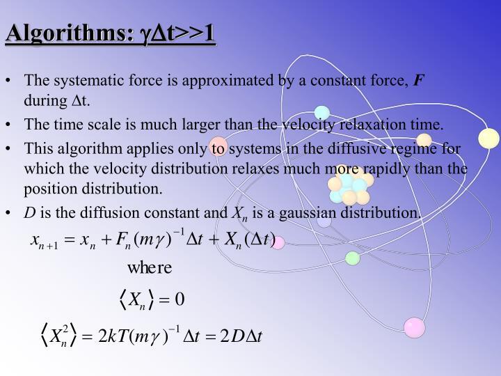 Algorithms: