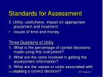 standards for assessment2