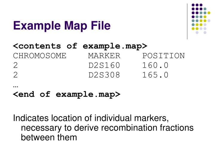 Example Map File