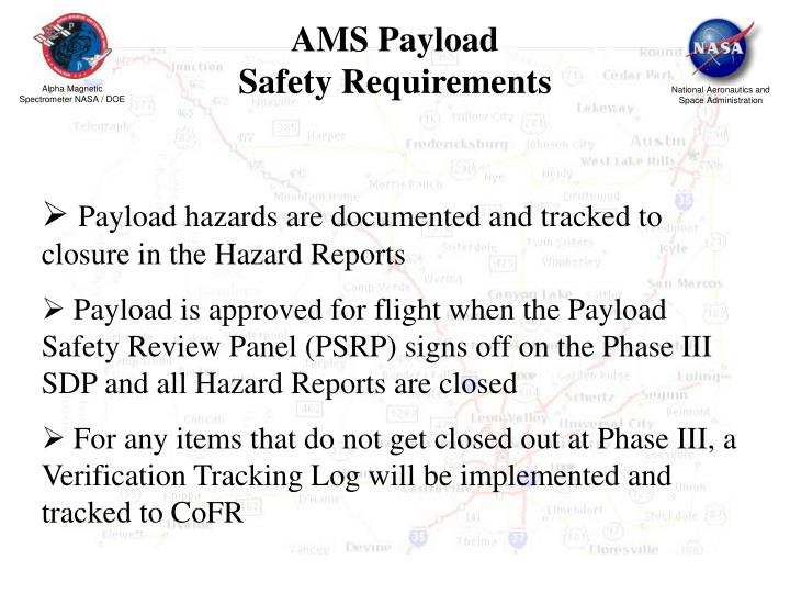 AMS Payload