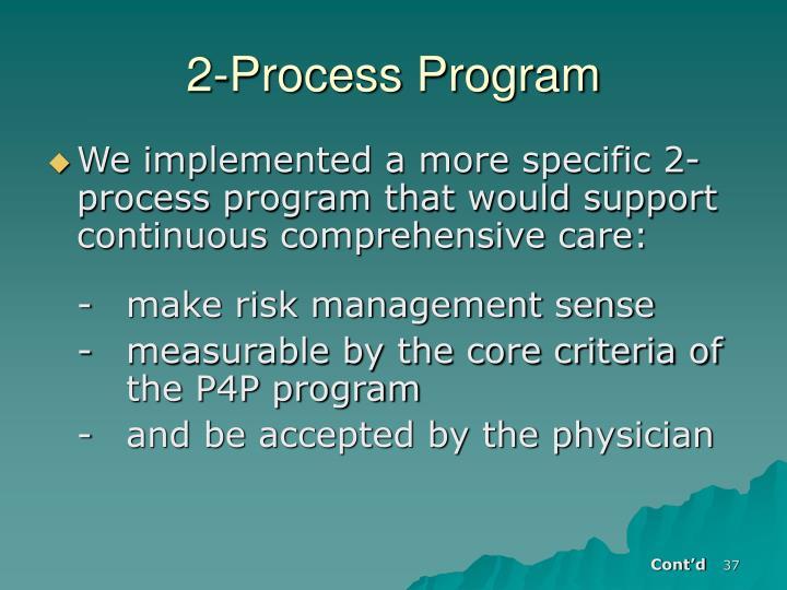 2-Process Program