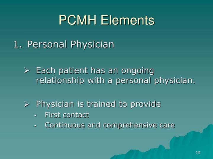 PCMH Elements