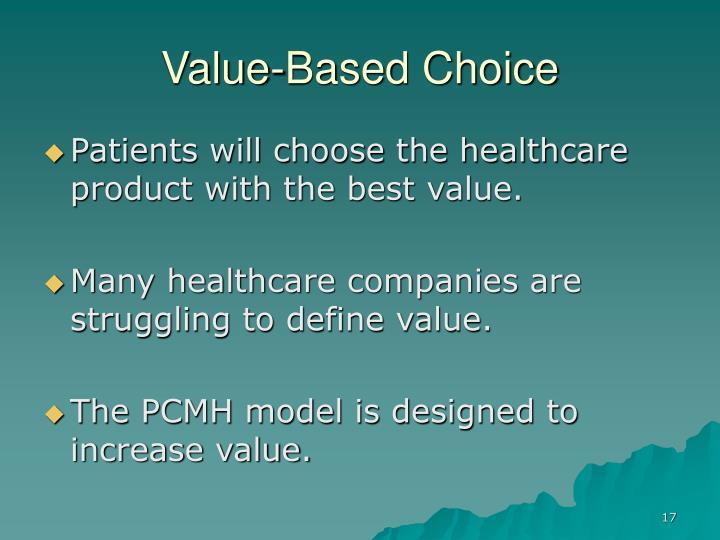 Value-Based Choice