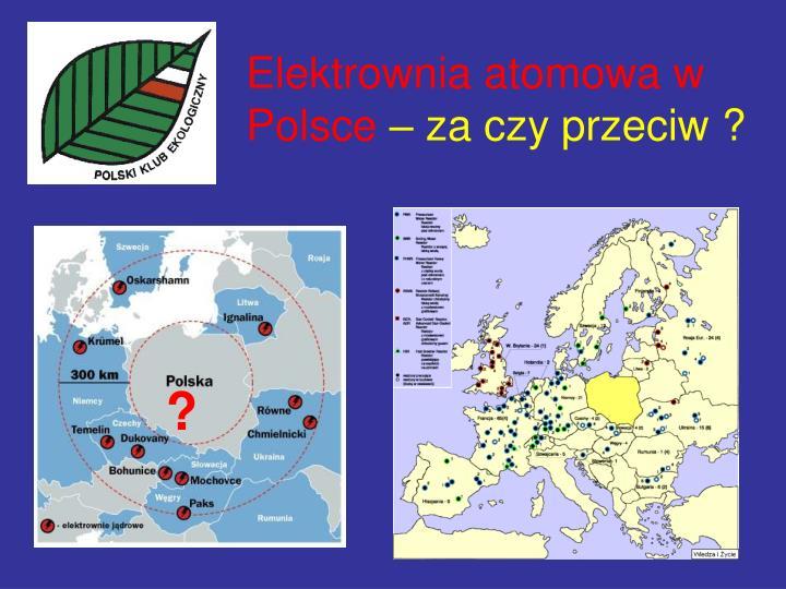 Elektrownia atomowa w Polsce