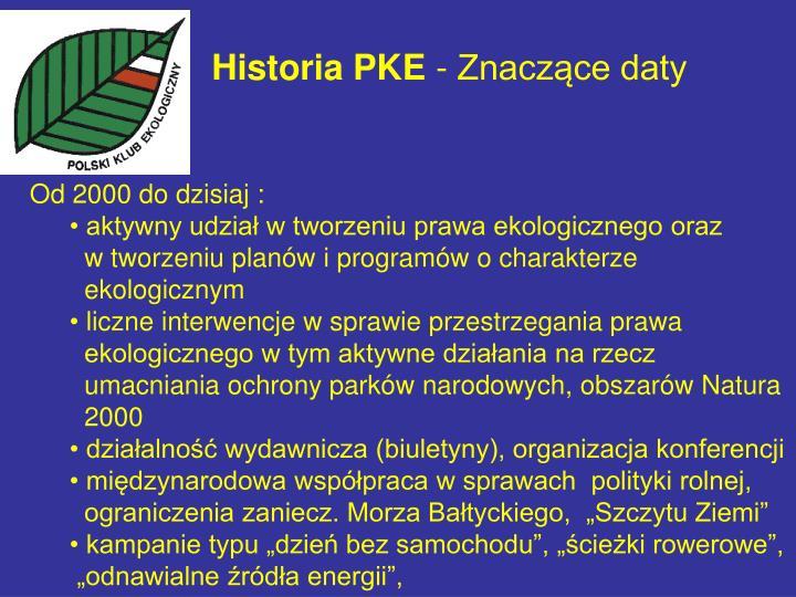 Historia pke znacz ce daty1