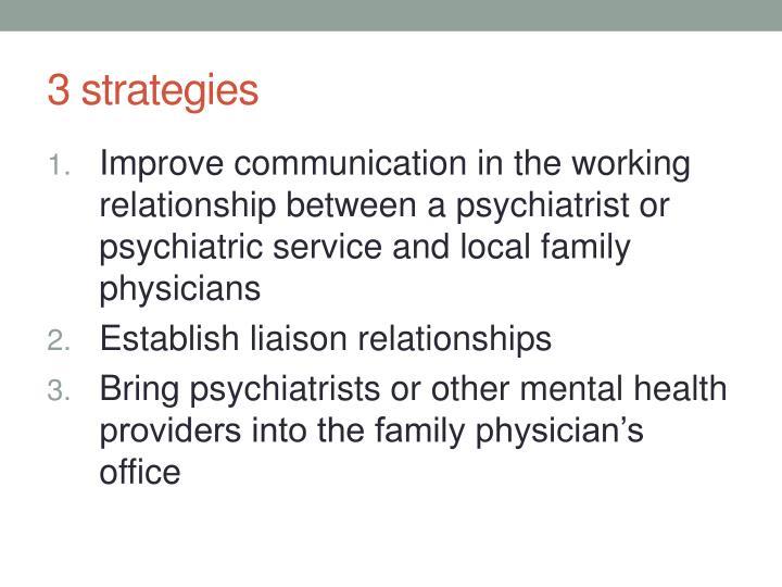 3 strategies